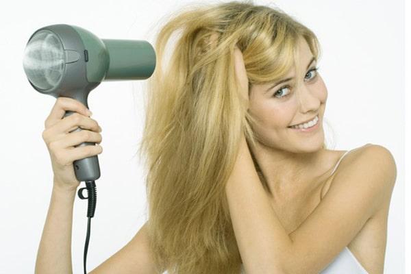 Sấy tóc đúng cách