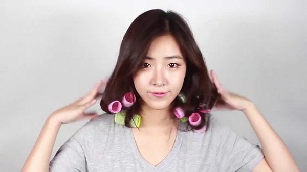 Quấn lô cho tóc