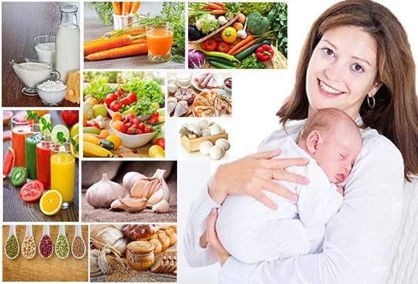 Bổ sung chế độ ăn đủ dinh dưỡng