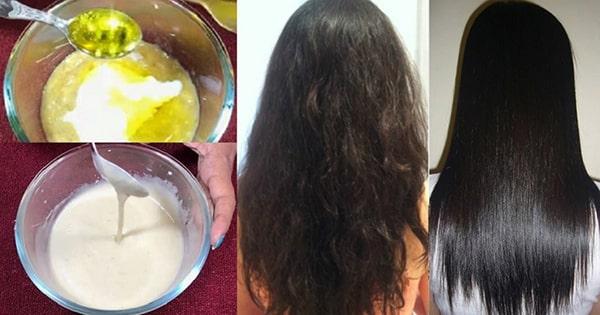 Các bước tạo mặt nạ chuối cho tóc