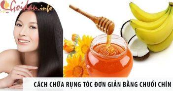 Cách chữa rụng tóc cực kỳ đơn giản bằng chuối chín