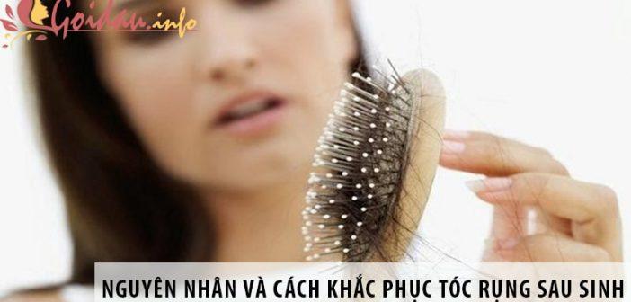 Nguyên nhân và cách khắc phục vấn đề tóc rụng sau sinh