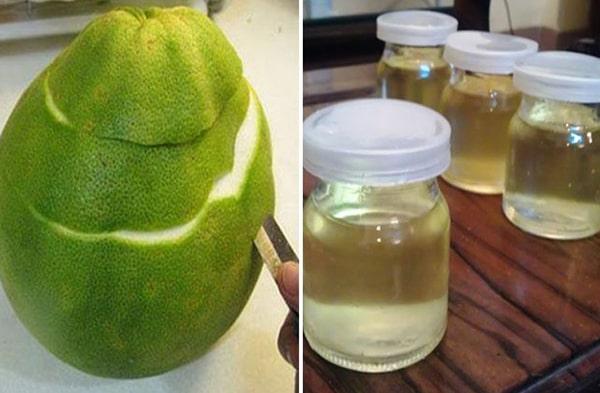 Cách tự chiết xuất tinh dầu bưởi