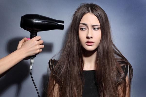 Hạn chế tác động của nhiệt độ cao lên mái tóc