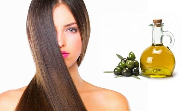 Chăm sóc tóc khô xơ bằng dầu ôliu
