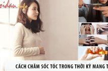 Mách nhỏ mẹ bầu cách chăm sóc tóc trong thời kỳ mang thai