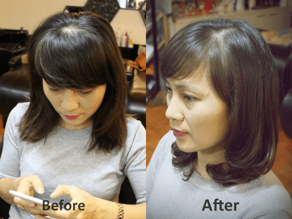 Những kiểu tóc tuổi 50 giúp bạn an gian tuổi 3
