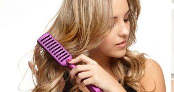 Thường xuyên chải tóc gọn gàng