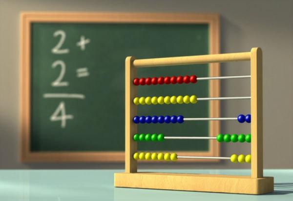 Sử dụng những đồ chơi toán học truyền thống