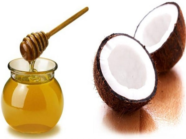 dưỡng tóc bằng mật ong và dầu dừa 1