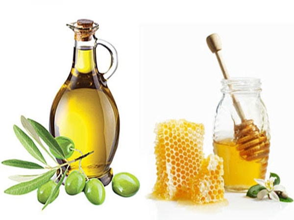 dưỡng tóc bằng mật ong và dầu oliu 1