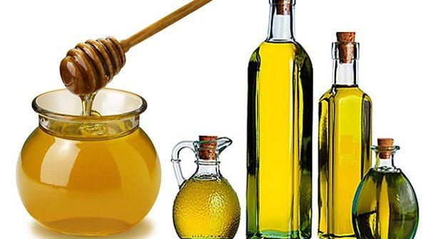 dưỡng tóc bằng mật ong và dầu oliu