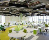 Thiết kế văn phòng giúp nâng cao tính sáng tạo trong công việc