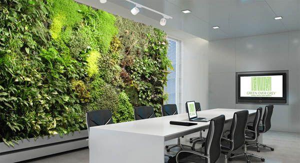 Đưa không gian bên ngoài vào văn phòng