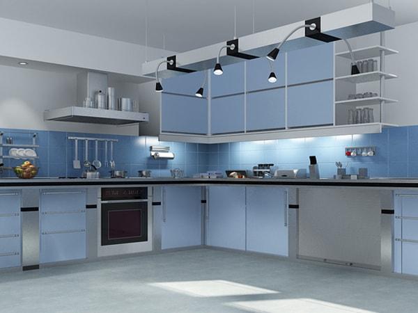 trang trí phòng bếp hiện đại 1
