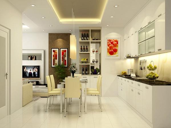 trang trí phòng bếp hiện đại 2