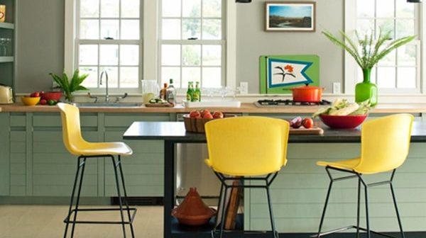 2 xu hướng trang trí phòng bếp hiện đại năm 2018