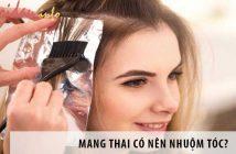 Mang thai có nên nhuộm tóc? – Cách chăm sóc tóc cho bà bầu