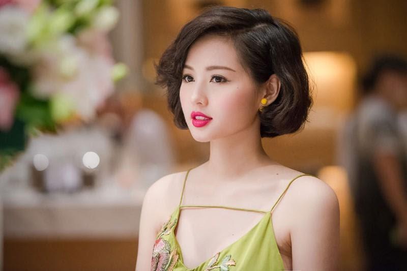 Tóc ngắn ngang cằm phù hợp cho phụ nữ tuổi từ 30-40